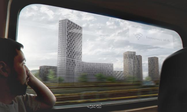Концепция развития станции МЦК «Шелепиха». Автор: Никита Дьяконов