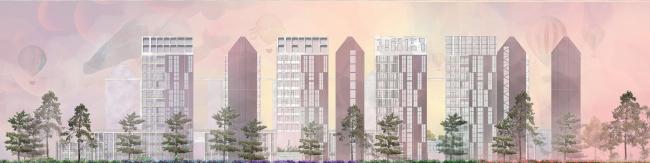 Концепция развития станции МЦК «Хорошево». Автор: Лидия Зарицкая