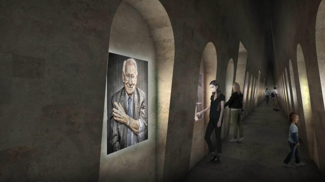 Конкурсный проект Мемориала Холокоста в Лондоне © Adjaye Associates