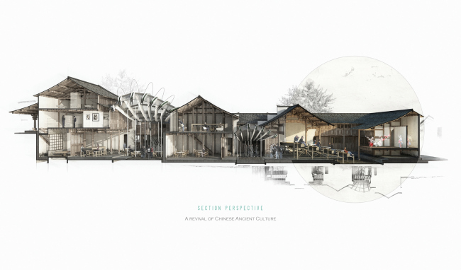 Renovation of Denggao Village. Автор: Xinyuan Cao, Mahlum (США)
