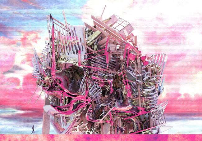 Echoessssssss 2. Автор: Sarath Saitongin, Städelschule Architecture Class, (Германия)