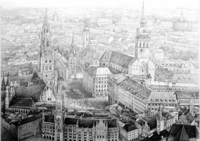 Munich Marienplatz. Автор: Анна Будникова, Стройпроект СБ (Россия)