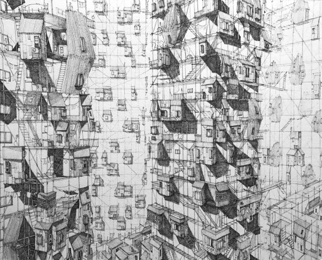 Scaffold Cities. Автор: KM Tham, PTW Architects Sydney (Австралия)