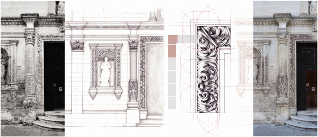 Reconstruct with Drawing. Hand drawing for Graphic Analysis. Автор: Mariapia Di Lecce, Università degli Studi di Parma – Facoltà di Architettura