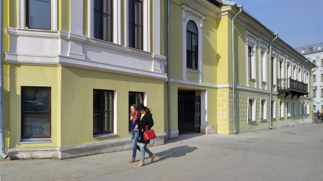 Restoration of the Dolgorukovykh-Bobrinskikh manor house on the Malaya Dmitrovka Street. Ginsburg Architects. Photograph © Julia Tarabarina, Archi.ru