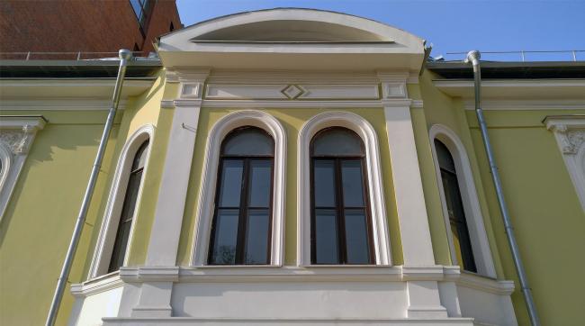 Restoration of the Dolgorukovykh-Bobrinskikh manor house on the Malaya Dmitrovka Street. Ginsburg Architects. Photograph © Julia Tarabarina, Archi.ru