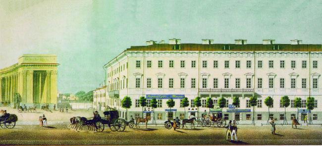 «Панорама Невского проспекта» (1835)