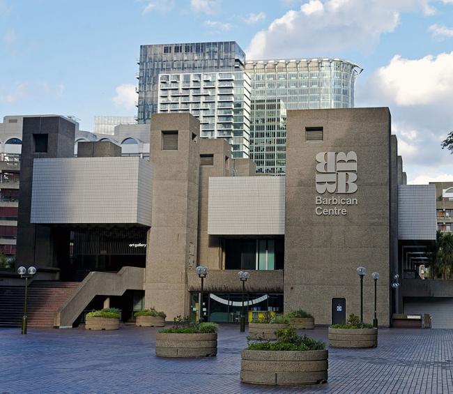 Барбикан-центр, основная сцена Лондонского симфонического оркестра в наши дни. Фото: Daniel Case via Wikimedia Commons. Лицензия Creative Commons Attribution-Share Alike 3.0 Unported