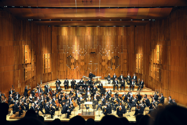 Барбикан-центр, основная сцена Лондонского симфонического оркестра  в наши дни. Фото: FA2010 via Wikimedia Commons. Фото находится в общественной собственности
