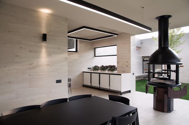 Летний павильон. Кухня. Фотография ©  Дмитрий Шведов