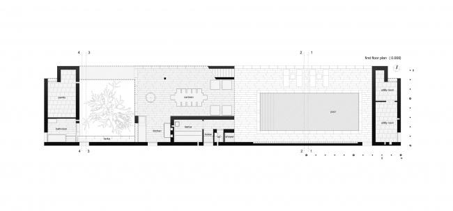 Летний павильон. План © Spirin architects
