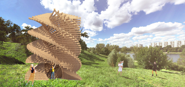 The Sparrow Hills. Project © Kristina Rykova, Wowhaus