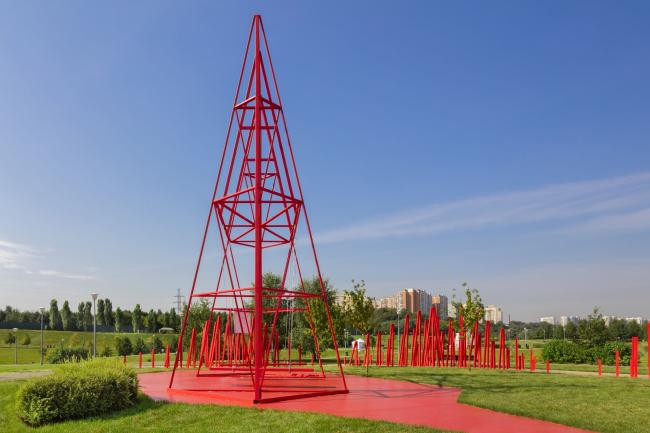 The Borovitsky Hill. Author of the project: Sophia Zhukova, Wowhaus Photograph © Dmitry Chebanenko