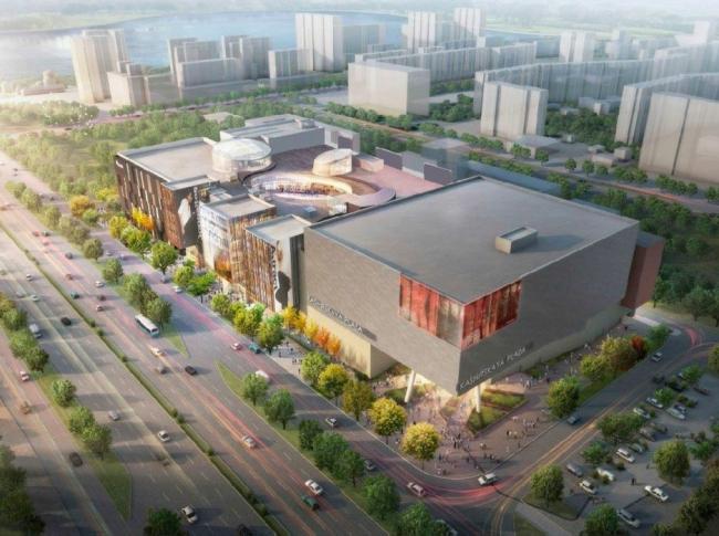 Торговый комплекс «Kashirskaya plaza» © Архитектурная мастерская им. Шехояна. Предоставлено пресс-службой «Москомархитектуры»