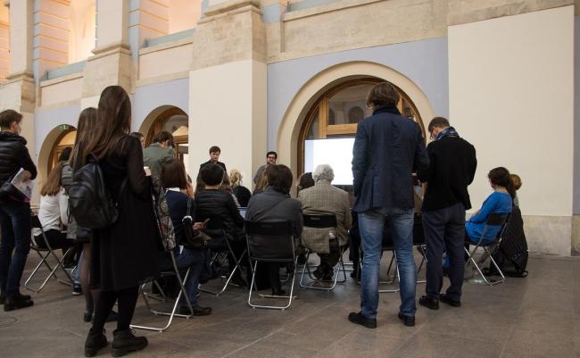 Презентация результатов исследований в рамках проекта «Идеальный город» на фестивале «Зодчество-2017»