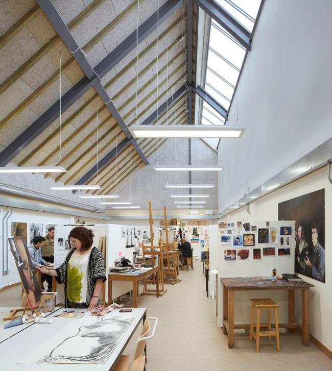 Заказчик года: школа Бидейлс. Корпус искусства и дизайна, архитекторы Feilden Clegg Bradley Studios. Фото © Hufton+Crow