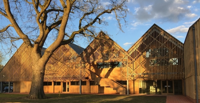 Заказчик года: школа Бидейлс. Корпус искусства и дизайна, архитекторы Feilden Clegg Bradley Studios. Фото © Matthew  Rice