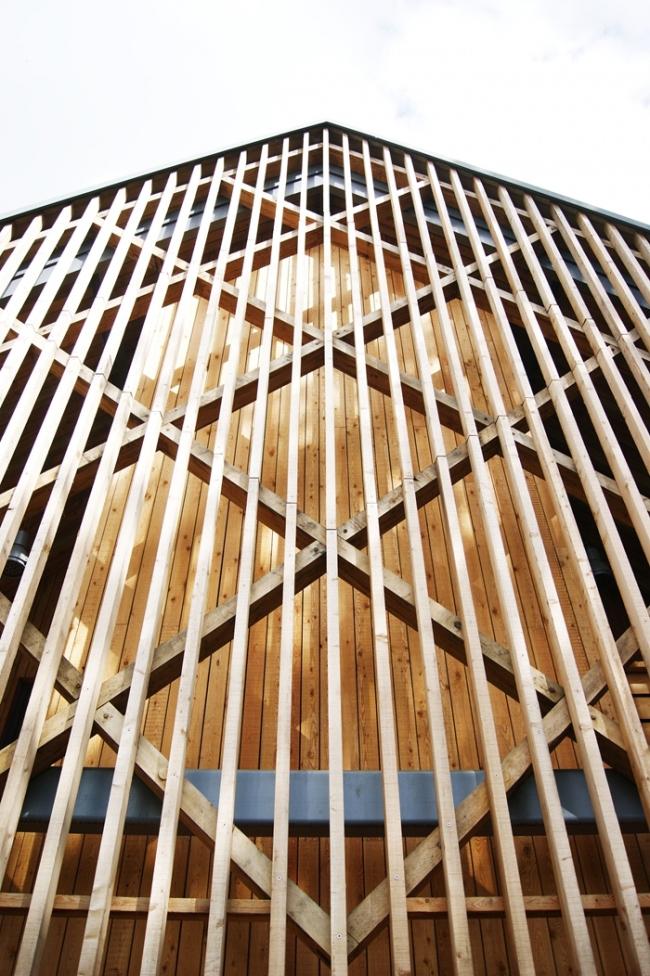 Заказчик года: школа Бидейлс. Корпус искусства и дизайна, архитекторы Feilden Clegg Bradley Studios. Фото © Mike Lewis