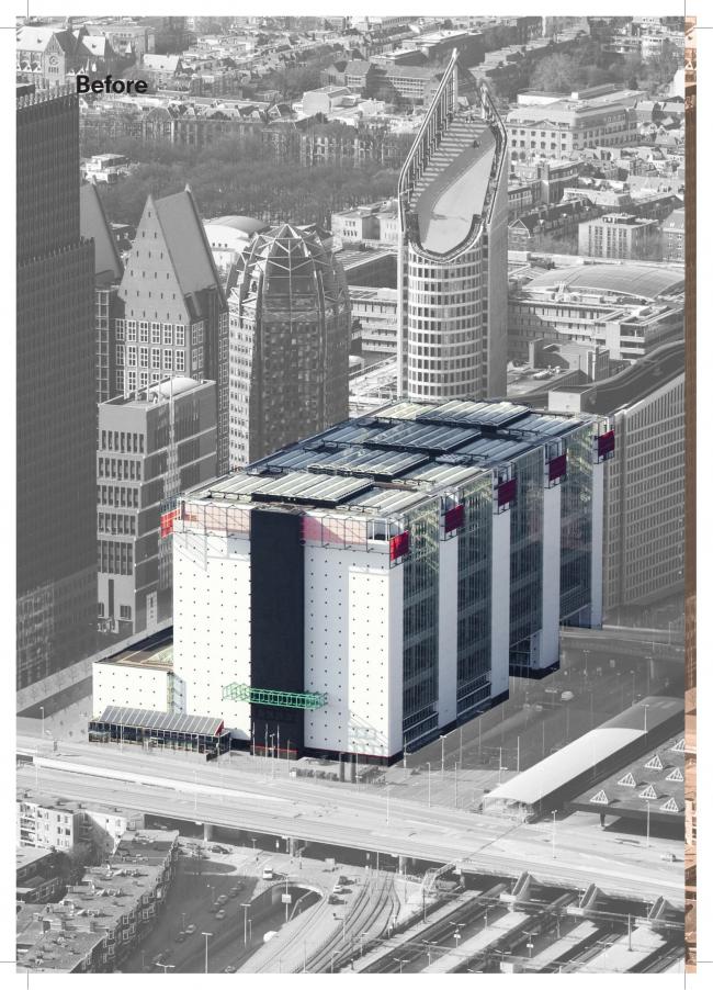 Административное здание на улице Рейнстрат, 8 © OMA