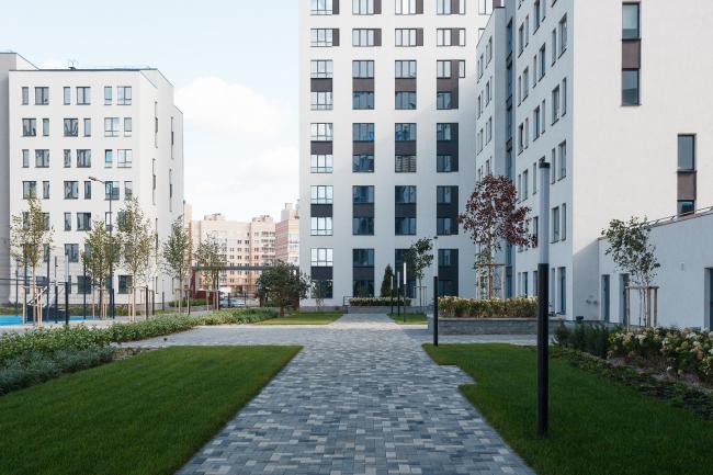 Жилой квартал в районе Солнечный © Архитектурное Бюро ОСА