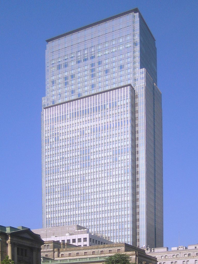 Башня Nihonbashi Mitsui Tower. Фото: Lombroso via Wikimedia Commons. Фото находится в общем доступе