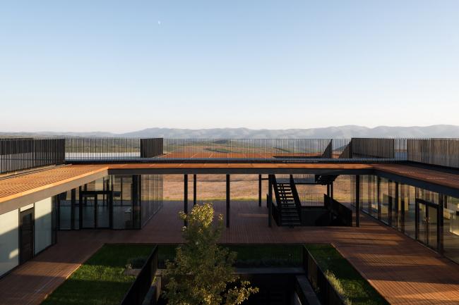 Winery in Haykadzor. Realization, 2013-2017, Kleinewelt Architekten. Photograph © Ilia Ivanov