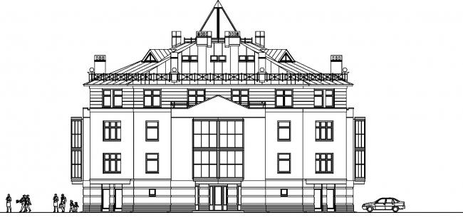 Жилой дом в Пушкине