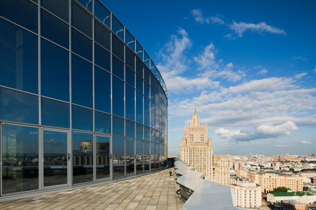 Azimut Отель Смоленская © T+T Architects