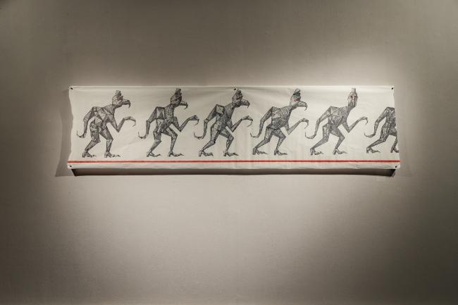 Выставка Александра Бродского «Красная дорожка». © Фото предоставлены галереей «Триумф».