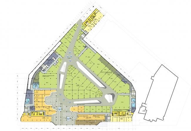 Жилой комплекс Smart Plaza. Отметка +14.550 © Архиматика