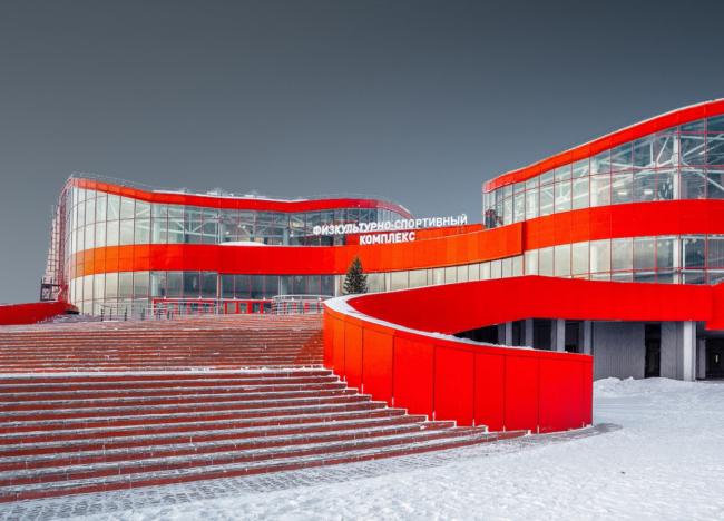 Физкультурно-спортивный комплекс «Улыбка Будды» © Ингмар «Архитектурно-Строительное Бюро»