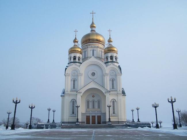 Спасо-Преображенский собор. Фото: Andshel via Wikimedia Commons. Лицензия CC BY-SA 3.0