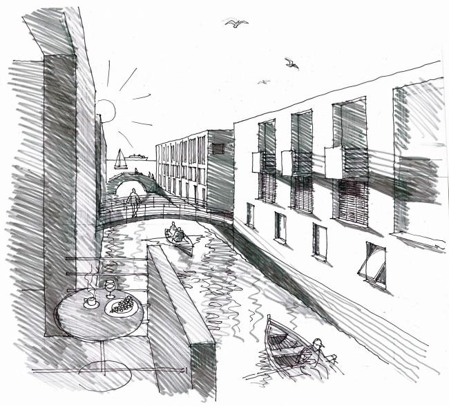 «Город–на–воде» – жилой район на намывных территориях