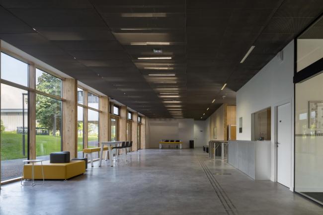 Здание имени Макса Вебера, Университет Париж X – Нантер © Hervé Abbadie