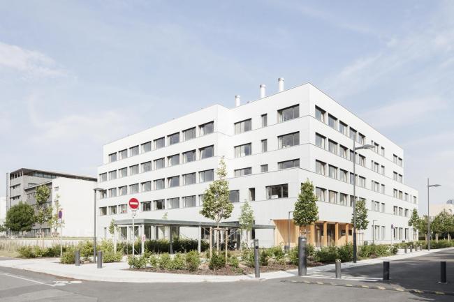 Здание имени Макса Вебера, Университет Париж X – Нантер © Schnepp Renou