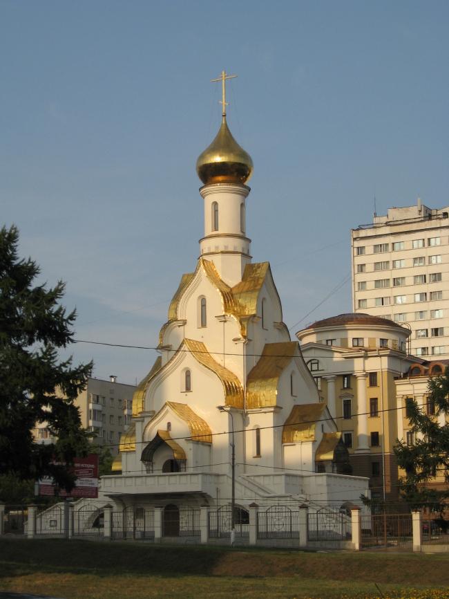 Храм Александра Невского в Кожухове. Фото: Туча via Wikimedia Commons. Фото находится в общем доступе
