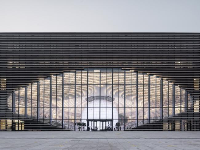 Библиотека района Биньхай в Тяньцзине © Ossip van Duivenbode