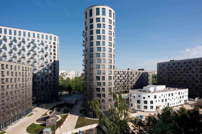 Жилой комплекс «Квартал 9-18» © Цимайло, Ляшенко и Партнеры