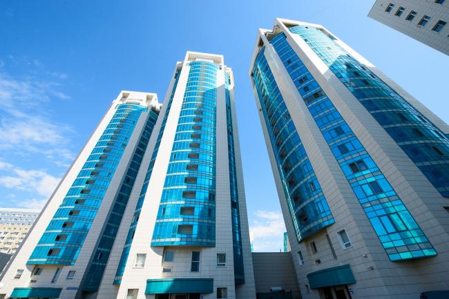 Жилой комплекс «Лазурный квартал». Фотография © ГК «АЛЮТЕХ»
