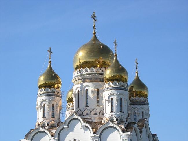 Спасо-Преображенский Собор в Тольятти. Фото: ShinePhantom via Wikimedia Commons. Лицензия CC BY-SA 3.0
