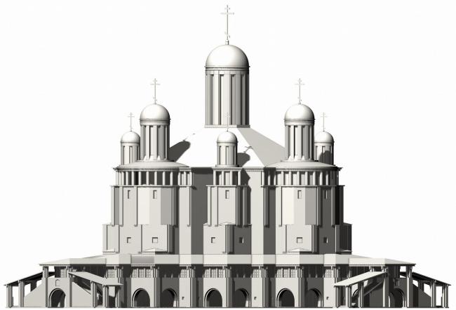 Кафедральный собор в Архангельске