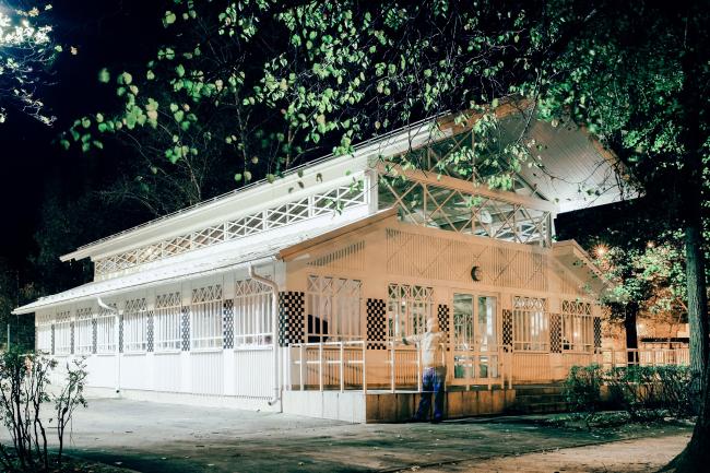 Павильоны в Измайловском парке © Архитектурное бюро «Народный архитектор»