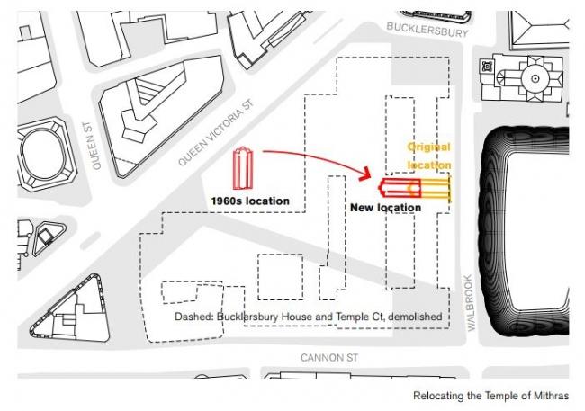 Перемещение храма Митры ©   IanVisits</a