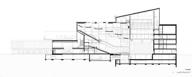 Культурный центр Odeon © C.F. Møller