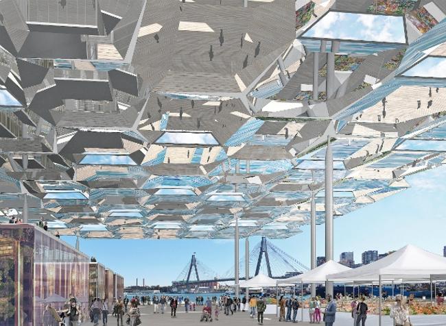 Рыбный рынок в Сиднее (Австралия).  Allen Jack+Cottier Architects, NH Architecture. Изображение предоставлено WAF
