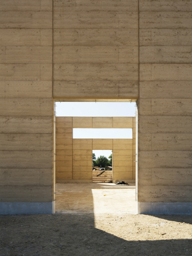 Кладбище Буши (Великобритания).  Waugh Thistleton Architects. Изображение предоставлено WAF
