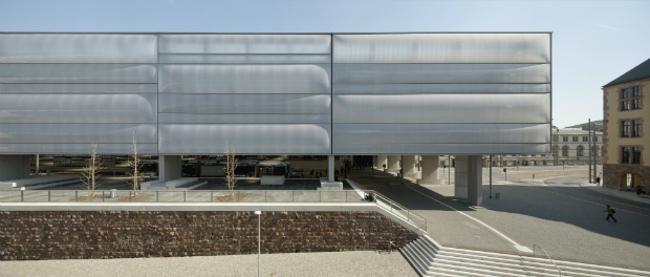 Реконструкция центрального воклаза Хемница (Германия).  Grüntuch Ernst Architects. Изображение предоставлено WAF