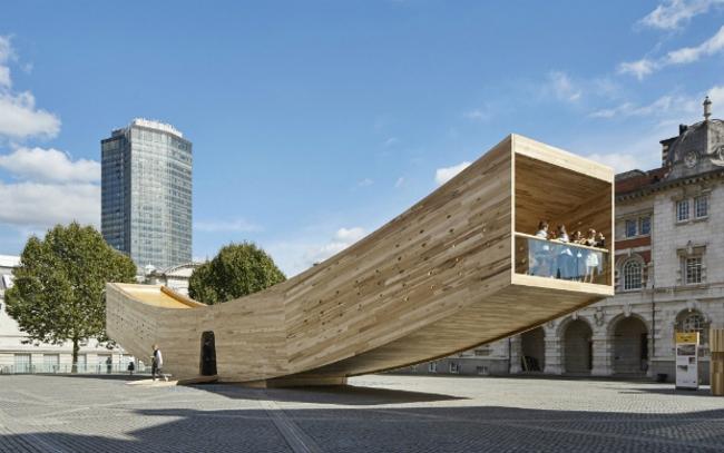 Проект «Улыбка» (Лондон, Великобритания).  Alison Brooks Architects. Изображение предоставлено WAF