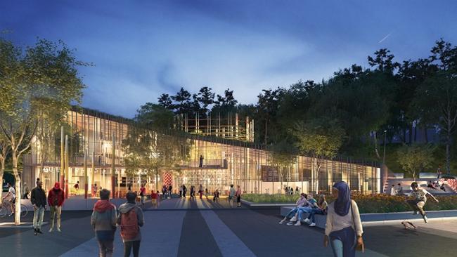 Культурный центр Kulturkorgen (Гётеборг, Швеция).  Sweco Architects. Изображение предоставлено WAF