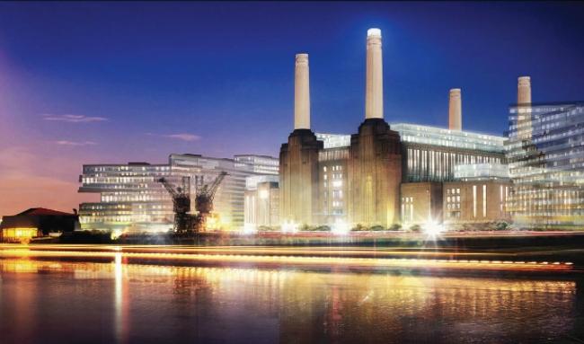 Реконструкция электростанции Баттерси. Второй этап (Лондон, Великобритания).  WilkinsonEyre. Изображение предоставлено WAF
